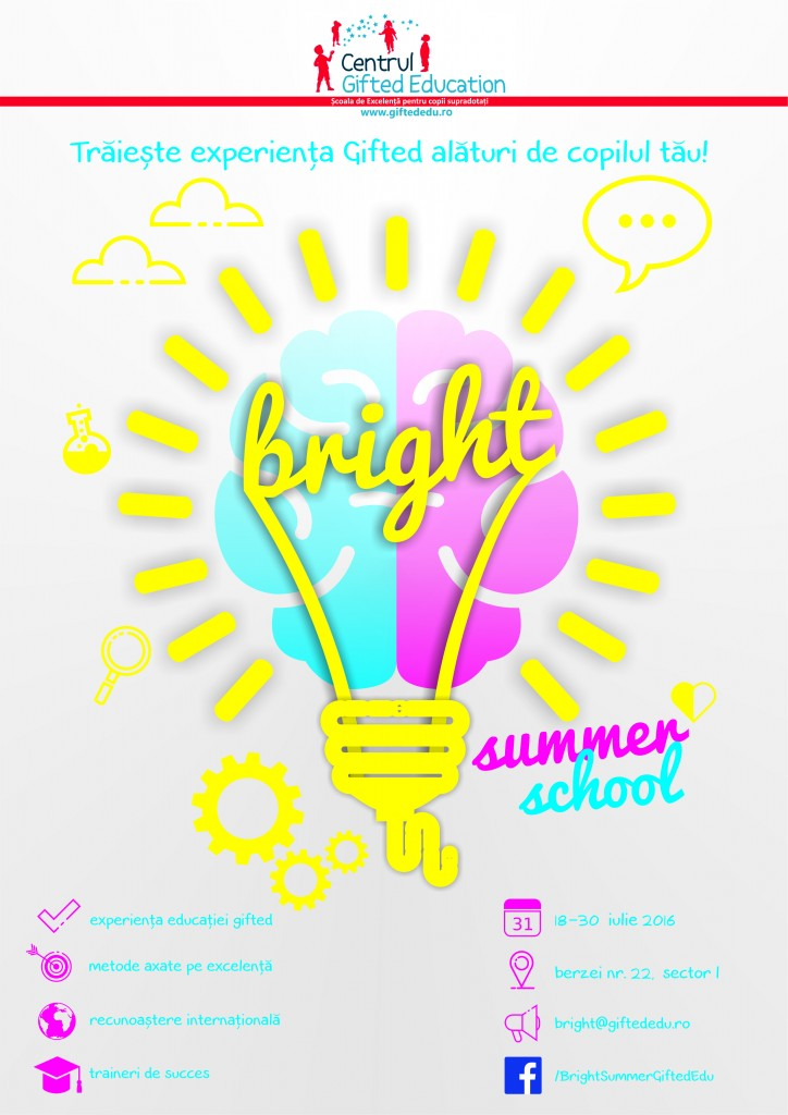 Afis Bright Summer School 2016 - v3