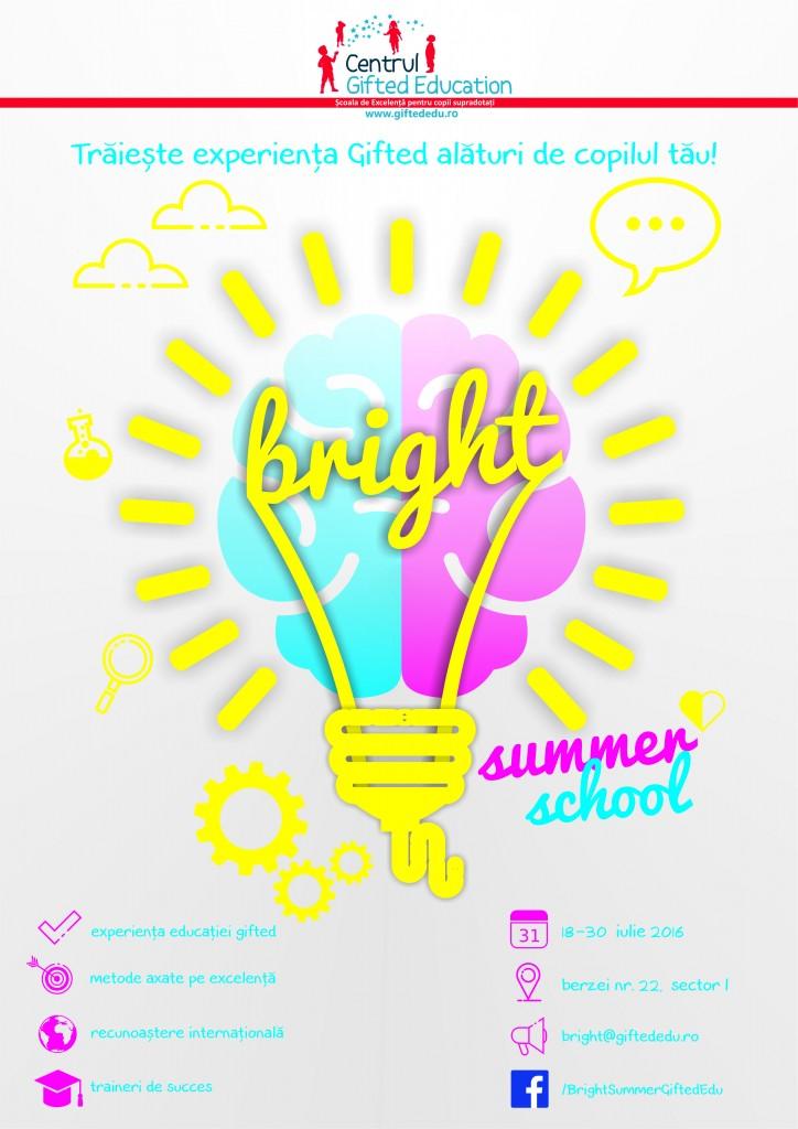 Afis Bright Summer School 2016 - v3