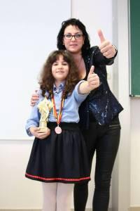 Diana Petre sustinuta de Mihaela Mathe, trainer Speakers Club