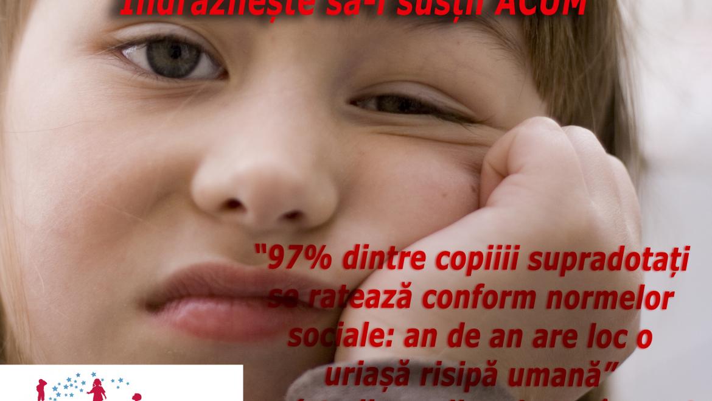 Statistici legate de copiii cu potential inalt