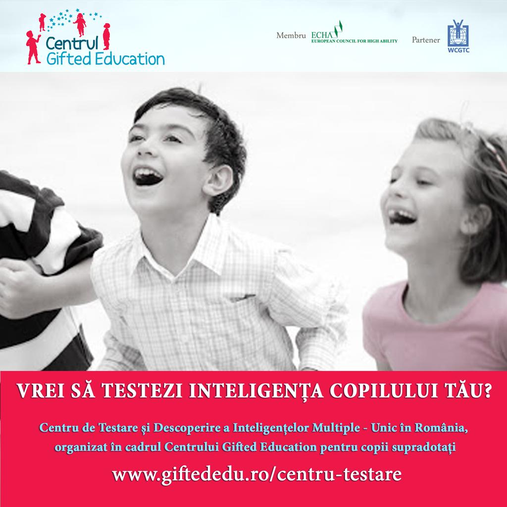 Calendar Testari IQ de nivel international in Bucuresti in 2018