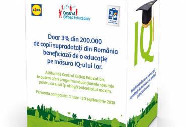 Lidl Romania sustine Centrul Gifted Education printr-o Campanie de strangere de fonduri