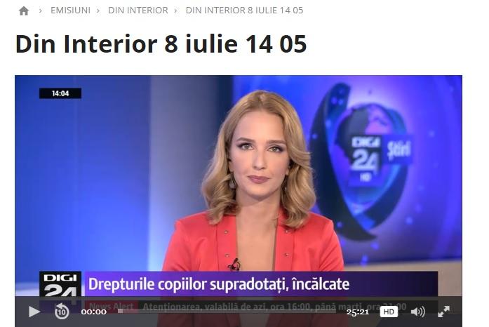 Reportaj Digi TV despre copiii supradotati