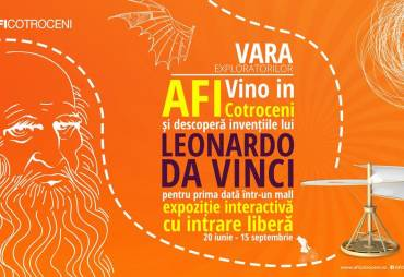 Impreuna sa descoperim inventiile lui Leonardo da Vinci