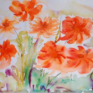 Buchest de crizanteme